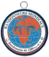 RM 1200 km medal