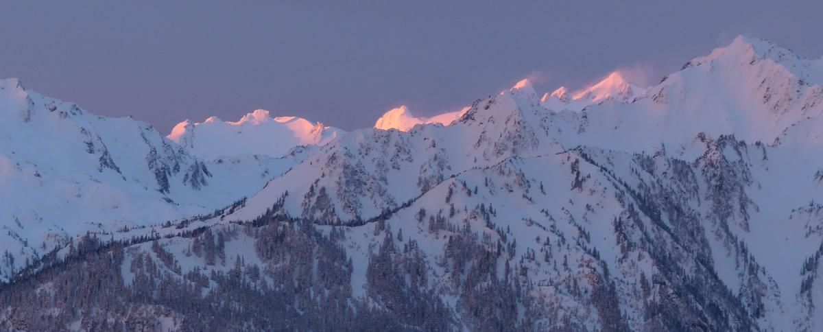 Olympic Mountain Winter